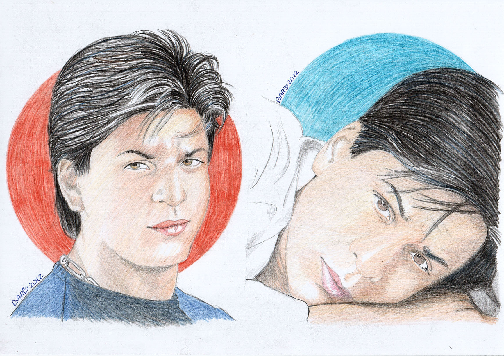 sharukh khan coloring pages - photo#17