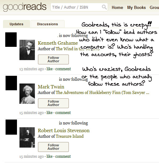 GoodreadsGhosts